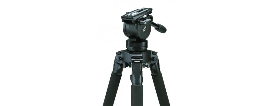 Central Video -  Gamme AIR (jusqu'à 5 kg) -  Système Air jusqu'à 5 kg trépied Solo Alu 2 étages  Système Air jusqu'à 5 kg trépi