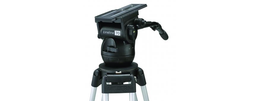 Central Video -  Gamme Cineline 70 (de 4,5 à 37,5 kg) -  Tête fluide Cineline 70 de 4,5 à 37,5 kg  Systeme Cineline de 4.5 à 37