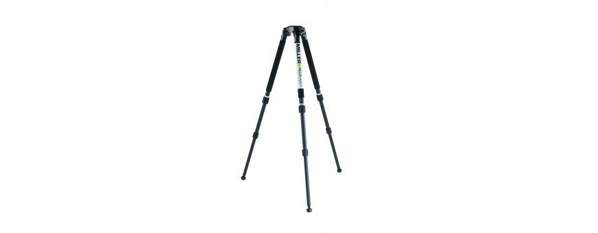 Central Video -  Gamme Solo (jusqu'à 30 kg) -  Trépied Solo Carbone, 2 étages, Bol de 75 mm, jusqu'à 20 kg  Trépied Solo Carbon