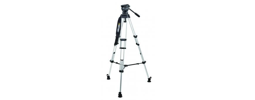 Central Video -  Gamme Compass (de 4 à 14 kg) -  Système Compass 25 de 4 à 14 kg trépied Toggle Lock Alu 2 étages Triangle de s