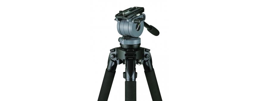 Central Video -  Gamme DS (jusqu'à 10 kg) -  Tête fluide DS10 de 2.5 à 5 kg  Tête fluide DS20 de 2,5 à 10 kg