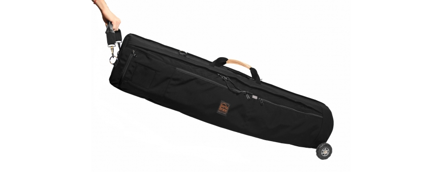 Central Video -  Valises d'éclairage renforcées -  Armored Lighting Case   Off-road Wheels   38-inches   Black  Armored Lightin