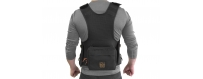 Central Video -  Vestes Audio -  Porta Brace Audio Tactical Vest | Sound Devices 633 |Black  Porta Brace Audio Tactical Vest |