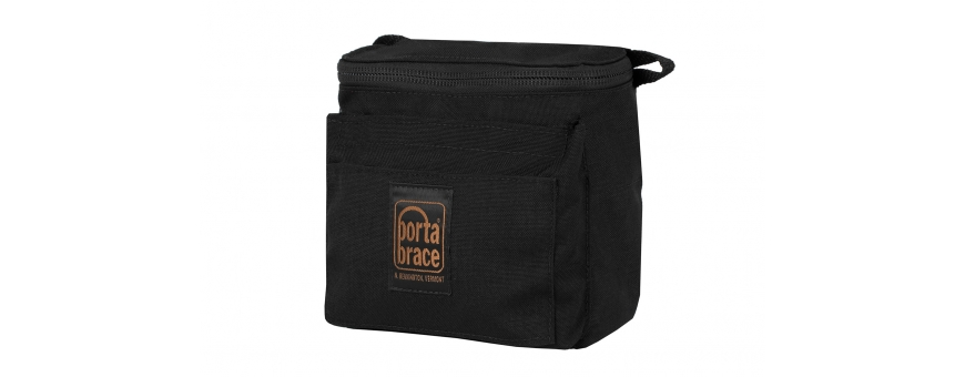 Central Video -  Pochettes renforcées -  Padded Pouch   Spare Camera Brick Battery   Black  Padded Pouch for Headphones   Black