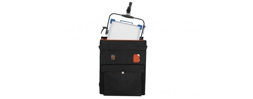 Central Video -  Light Pack -  Sac lumière version noire  Sac de transport pour Lite Panels 1 x 1  Porta Brace Light Pack Case