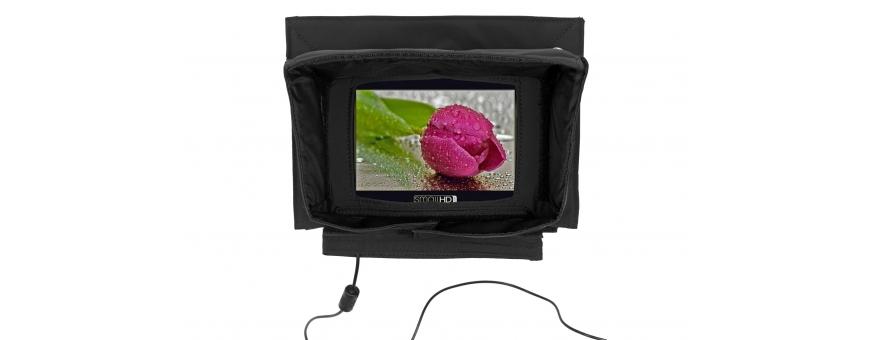 Central Video -  Housses pour moniteurs -  Housse moniteur  Pare soleil pour moniteur  Housse moniteur version noire