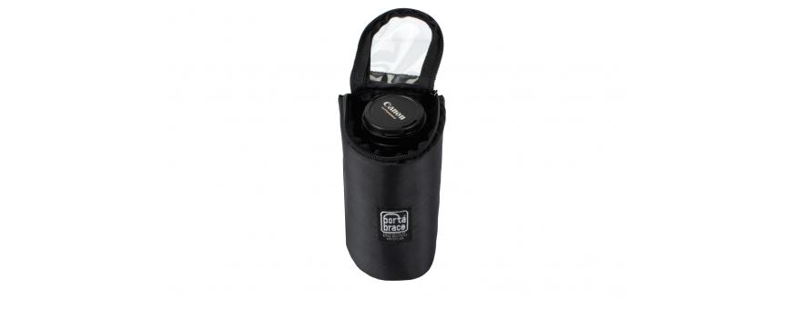 Central Video -  Pochettes optiques -  Pochette molletonnée avec fermeture éclair  Cam-Corder Stuff Sack | Set of 2 | Black  Je