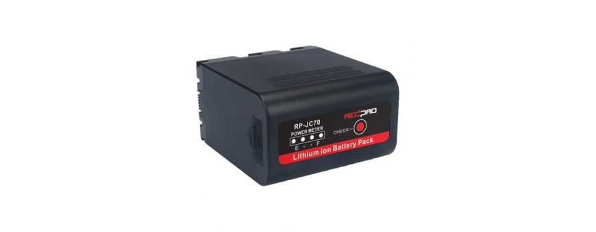 Central Video -  Batteries -  Batterie Li-Ion Monte Anton Bauer - 14.8V / 98Wh avec sortie D-Tap et USB  Batterie  Li-Ion- 14,8