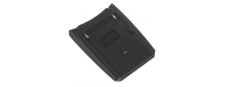 Central Video -  Plaques -  Aluminium V Lock Mount  Plaque Batterie pour kits Chargeurs RP-DC10 & RP-DC20 : JVC BN-V25U  Plaque