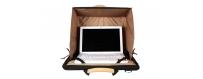 Central Video -  Ordinateurs portables et Tablettes -  Mobile iPad Case  Sac pour iPad avec pare soleil intégré  Besace pour iP