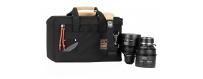 Central Video -  Pochettes Optiques -  Jeu de 3 pochettes optiques, moyennes  Cam-Corder Stuff Sack | Set of 2 | Black  Jeu de