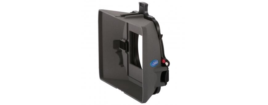 Central Video -  Mattebox Vocas -  Mattebox MB-255  Kit mattebox MB-215 avec barres de support 15mm  Kit Mattebox MB-255 avec s