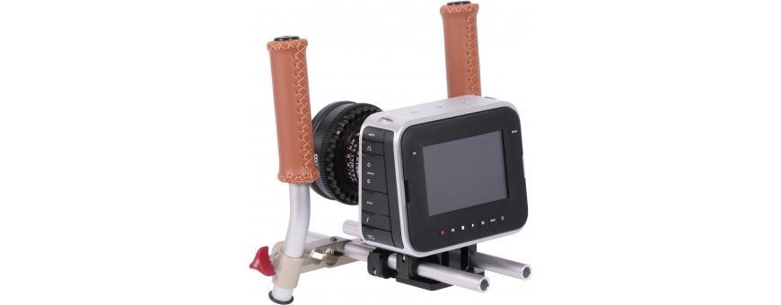 Central Video -  Kits DSLR -  Epaulière DSLR 1  Kit DSLR compact pour caméra cinéma Blackmagic  Epaulière DSLR 2