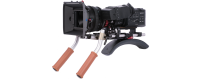 Central Video -  Epaulières sur barres -  Epaulière DSLR 1  Kit DSLR compact pour caméra cinéma Blackmagic  Epaulière DSLR 2