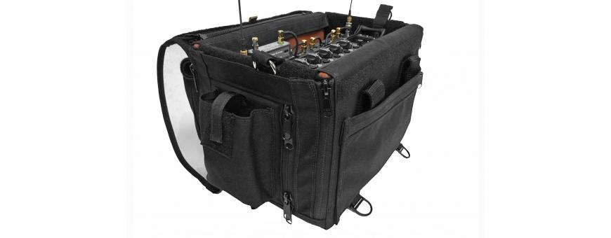Central Video -  Sacs et housses Audio -  Sac Audio Organizer version bleue  Sac Audio Organizer version noire  Porta Brace Aud