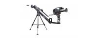 """Central Video -  Jib 100 -  Sunshade for monitor 7""""  Monitor TFT/ LCD 7""""/ 12V  Sand bag"""