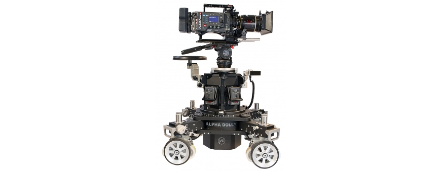 Central Video -  Alpha Dolly -  MAGNUM PLATFORM SYSTEM (4 pcs.)  TERMINAL PLATFORMS SET  Alpha Dolly column