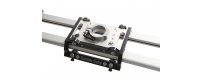 Central Video -  ScooterDolly -  Push bar  Fin de course pour rail  EMBASE DE SOL