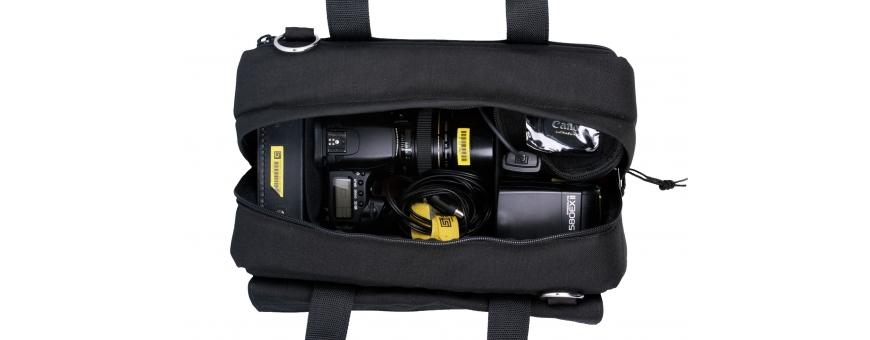 Central Video -  Sacs pour DSLR -  Sac de transport version noire/rouge pour caméra DSLR  Sac de transport pour caméra DSLR  Sa