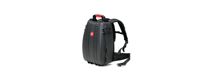Central Video -  Sac a dos valise -  Sac à dos étanche avec sacoche amovible et séparateurs  Sac à dos étanche avec mousse préd