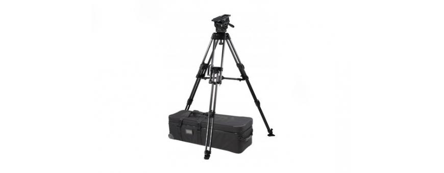 Central Video -  Système jusqu'à 21 kg en charge -  ArrowX 5 (1074) Sprinter II 1-St Alloy Tripod (1589G) Ground Spreader (470)