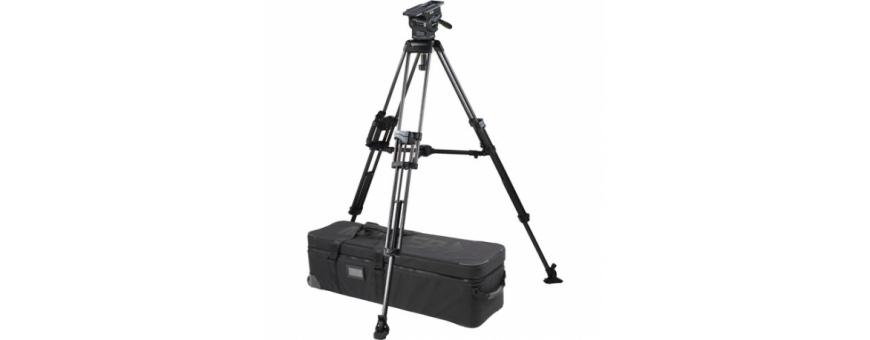 Central Video -  Gamme ArrowX 5 (jusqu'à 21 kg) -  ArrowX 5 (1074) Sprinter II 1-St Alloy Tripod (1589G) Ground Spreader (470)