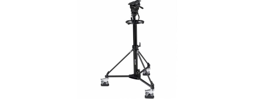 Central Video -  Gamme ArrowX 7 (jusqu'à 25 kg) -  ArrowX 7 (1076) Sprinter II 1-St Alloy Tripod (1589G) Ground Spreader (470)