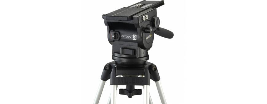 Central Video -  Gamme ArrowX (de 1 à 25kg) -  ArrowX 3 Fluid Head  ArrowX 5 Fluid Head  ArrowX 7 Fluid Head