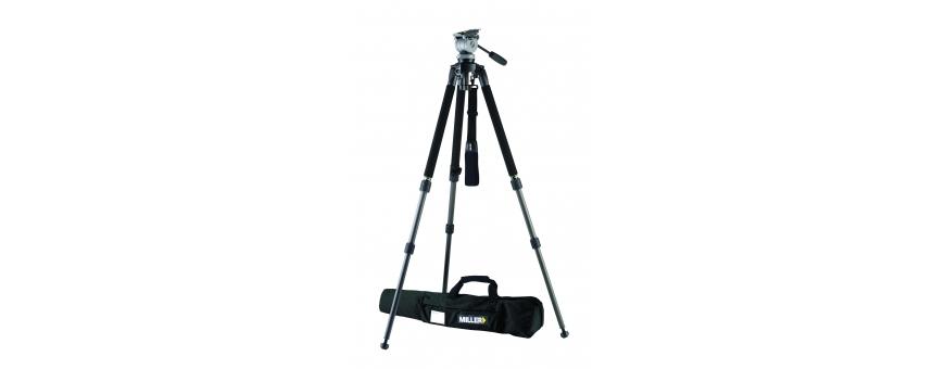 Central Video -  Système jusqu'à 05 kg en charge -  Système DS10 de 2,5 à 5 kg trépied Toggle Lock Alu 1 étage  Système DS10 de