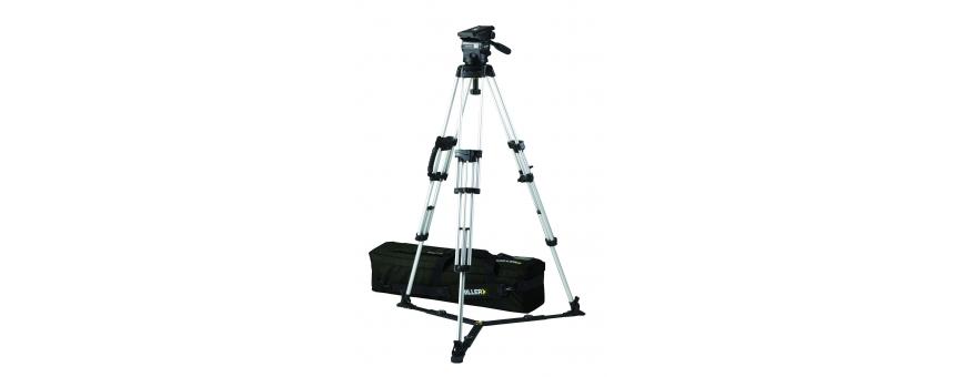 Central Video -  Système jusqu'à 14 kg en charge -  Système Compass 25 de 4 à 14 kg trépied Toggle Lock Alu 2 étages Triangle d
