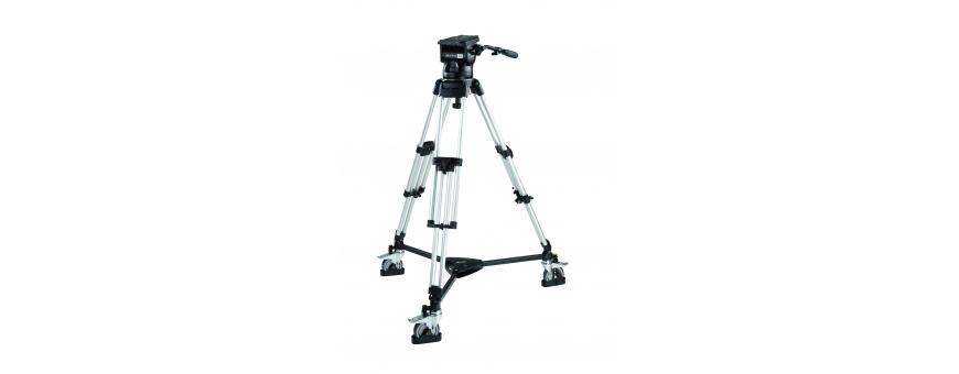 Central Video -  Système jusqu'à 37 kg en charge -  Système Skyline 70 de 4,5 à 37,5 kg trépied HD Carbone 2 étages Triangle in