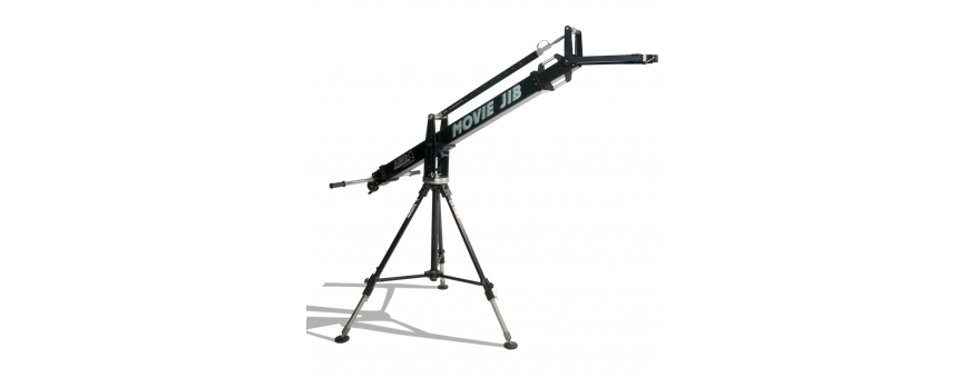 Central Video -  Movie JIB -  Adaptateur Euro-mount avec bol 150mm  Movie Jib complet avec trépied Bull-Stand 120  JIB 100