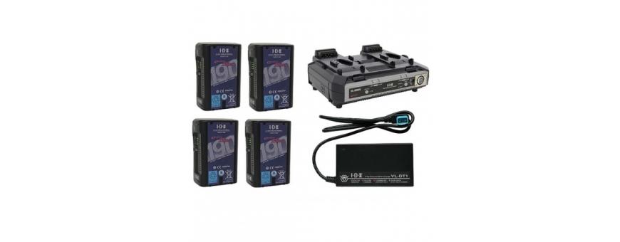 Batteries et Chargeurs monture V