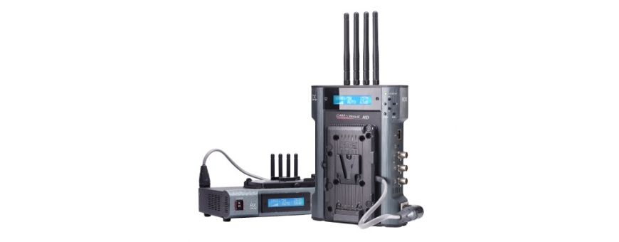 Central Video -  Transmission Vidéo Sans Fil -  Adaptateur batteries pour CW-3  Système Émetteur/Récepteur HF Vidéo HDMI  Pack