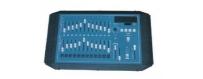 Central Video -  Contrôle de Lumière -  Console de contrôle DMX 12/24  Cable DMX 4 metres  Console de contrôle DMX 24/48