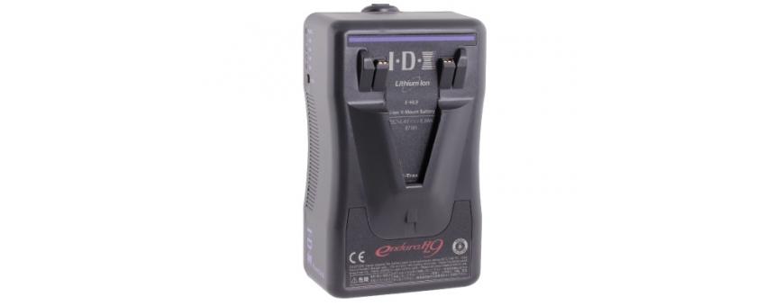 Central Video -  Batteries V-Mount jusqu'à 100 Wh -  Batterie V-Mount Li-ion 73Wh avec sortie D-Tap  Batterie V-Mount Li-ion 91